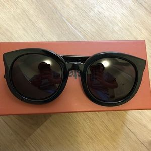Karen walker Black big frame sunglasses